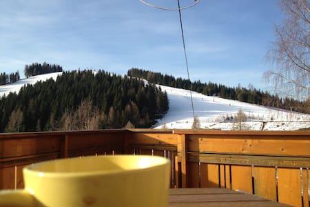 Skihütte mit tollem Panoramablick  - Retschitz-Simonhöhe