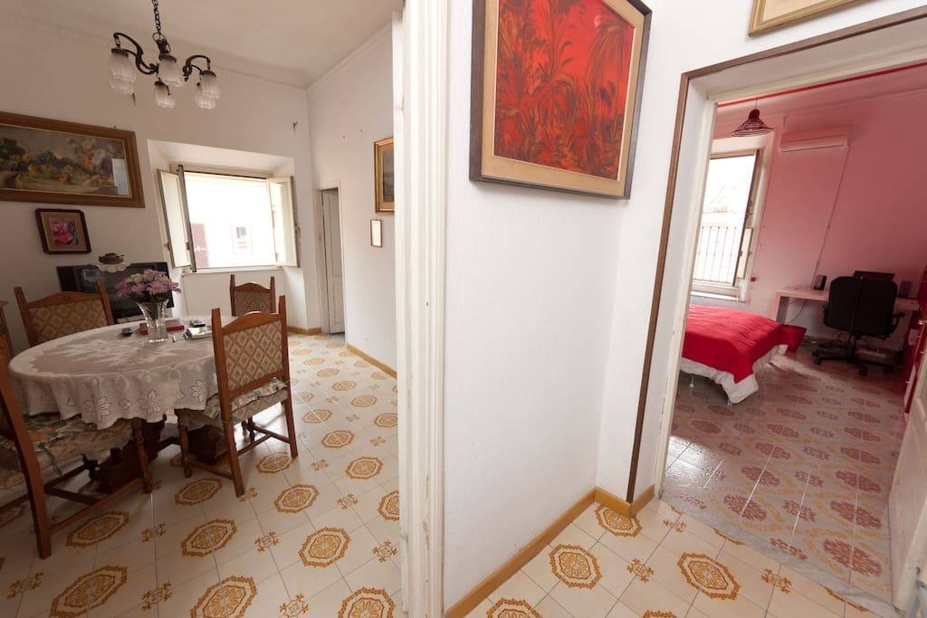 5 beds apartment in Roma Center