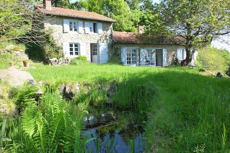 Maison Nature Rare! Parc, arboretum - côte roannaise, monts d'Urfe - House