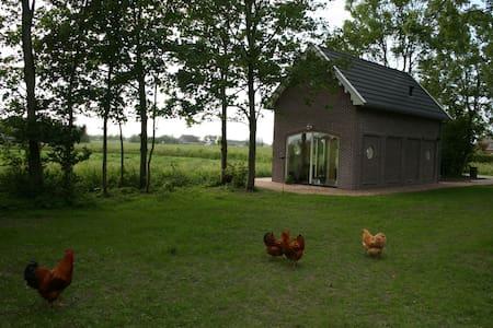 Koetshuis bij Biologische boerderij - Dům