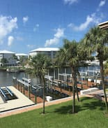 Picture of Beautiful marina and water view