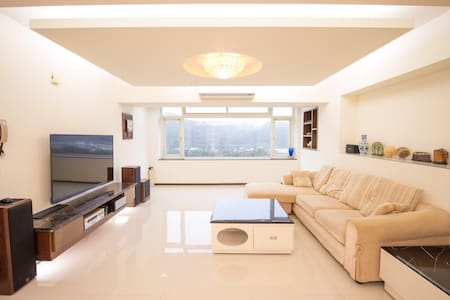 Brightly Decorated Warm Lift View House Parking - Xindian District - Apartment