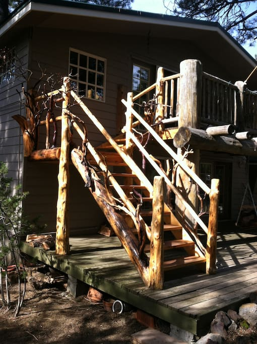 New Manzanita and Juniper staircase!