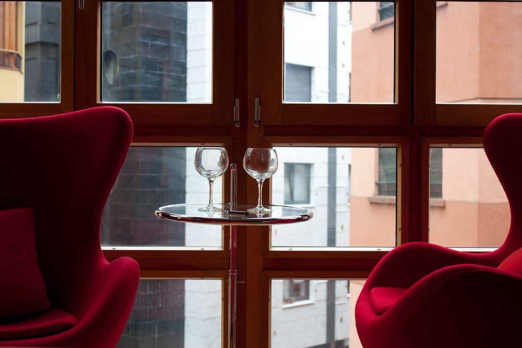Estudio moderno en centro de Gijón
