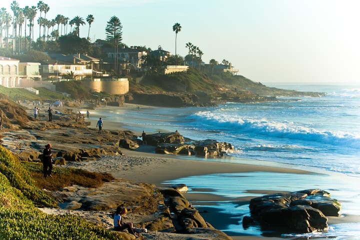 2 Bedroom La Jolla Beach Cottage Houses For Rent In San