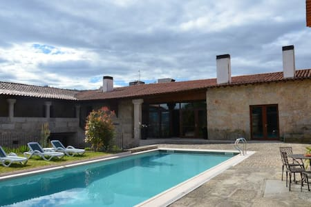 Q.Duplo c/Jacuzzi-Hotel Rural Alves - Braga - Bed & Breakfast