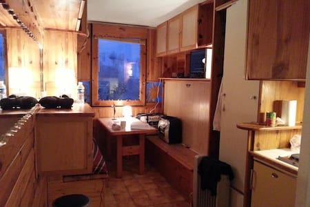 Studio indépendant à la montagne - Villarembert - Appartement