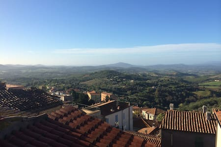 Lovely 2 bedroom apartment with stunning view. - Manciano