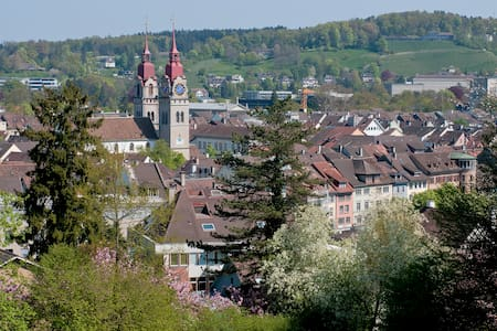 Stay in  Winterthur - near Zurich - Aamiaismajoitus