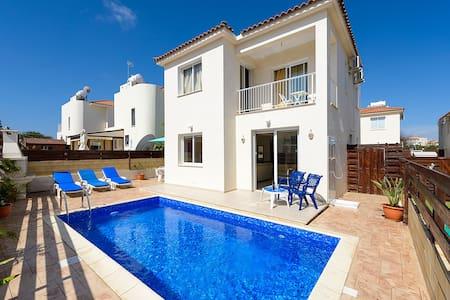 DAFVIL12 3 Bed Villa Pernera Beach - Villa