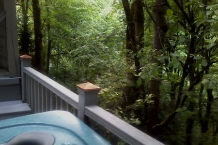 The TreeHouse 1 Bedroom Suite Bed & Breakfast - Szoba reggelivel