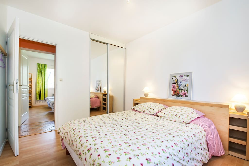 chambre 4 - lit double