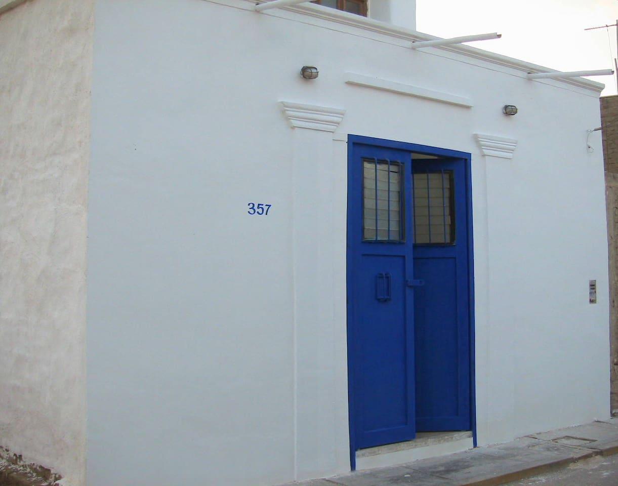 Puerta calle San Pedro.