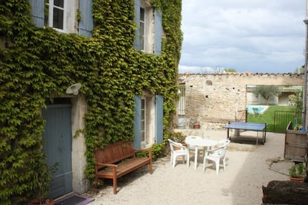 MAISON DE VILLAGE AVEC PISCINE  - Saint-Didier