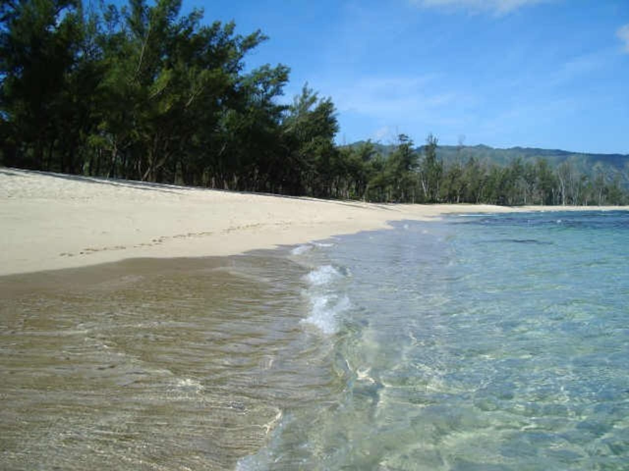 North Shore Mokuleia. The one of a kind almost private beach below the ranch