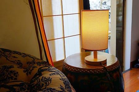 瑜伽精舍里的帐篷房,踏踏米地垫,手工藏毯,羽绒被,温馨舒适,小情小调。 - 拉萨市 - House