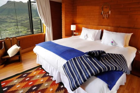 Mountain top suite wellness hotel - Otavalo - Cabaña