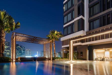34Fl 2, M Ladprao Condo,MRT & Malls - Appartamento