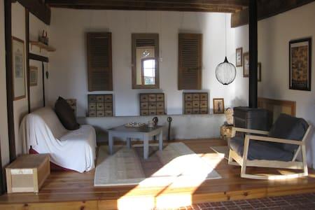 Loft dans une étable XIXè restaurée. - Saint-Lary-Boujean