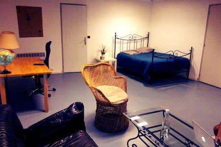 Belle chambre appartement 80m2 centre ville - Apartemen