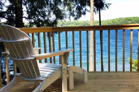 100 Ft. Frontage on Long Lake, Updated,CLEAN! - Cabaña