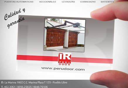 Puertas Automáticas levadizas PERU - Andet