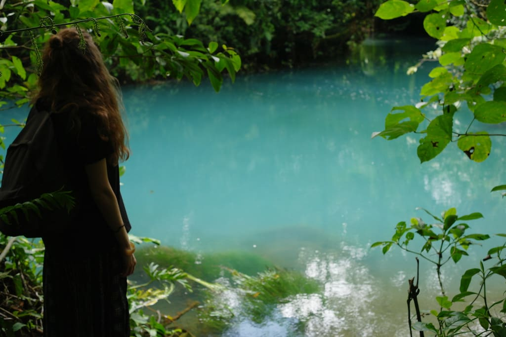 Rio Celeste National Park Tenorio, 12 kilometres from our Logde