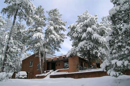 Snowcap Adobe:The Peacock Parlor - Ruidoso