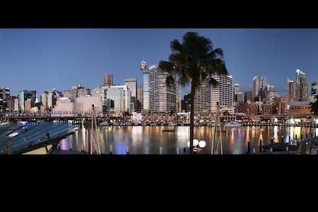 50 Walking Steps To Darling Harbour