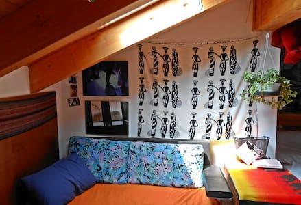 attic loft nestled in the green - Loft