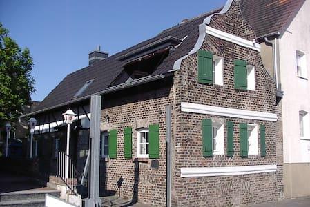 Rheinufer-Lodge am Yachthafen Lev.-Hitdorf - Casa