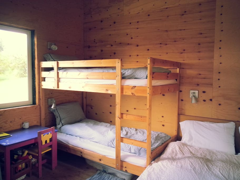The bunk-bed!
