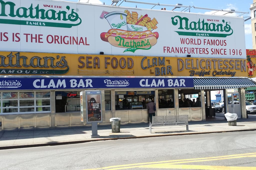 The original Nathan's Famous