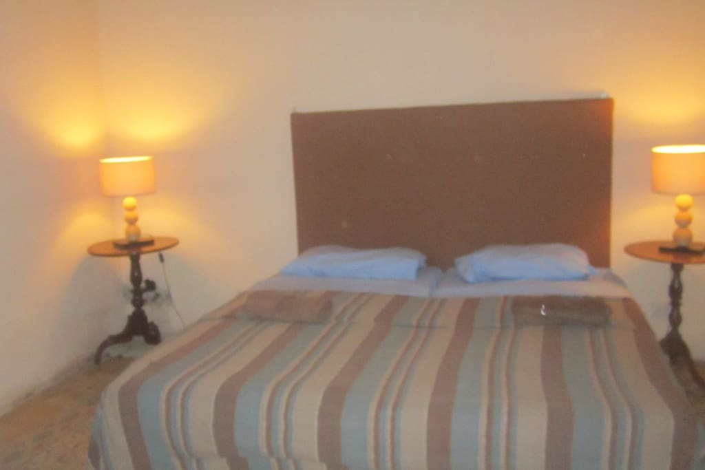 Double bedroom with shower en-suite. (extra folding bed available)