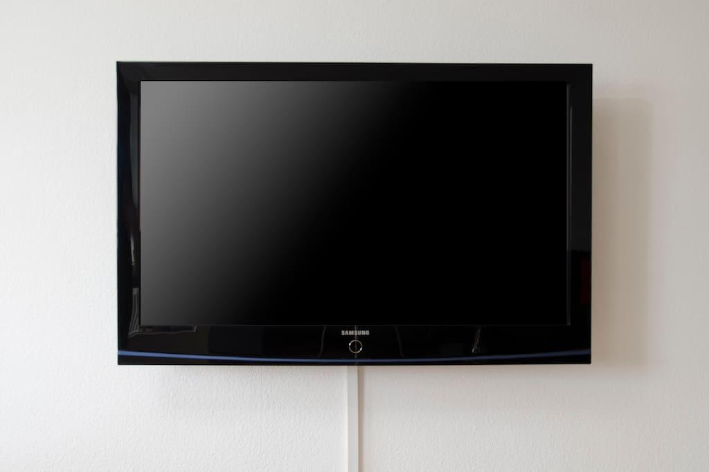 50'PLASMA FLAT TV