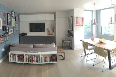 Modern & sunny 1 bed flat + parking - Appartement