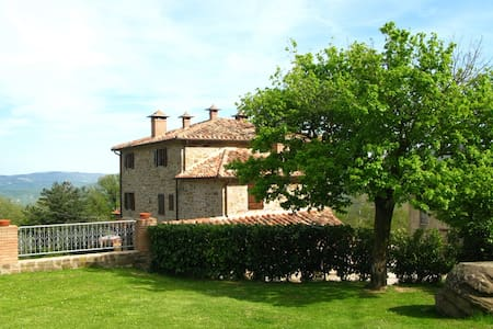 Loggia Stupend flat for 6  with pool - countryside - Cortona