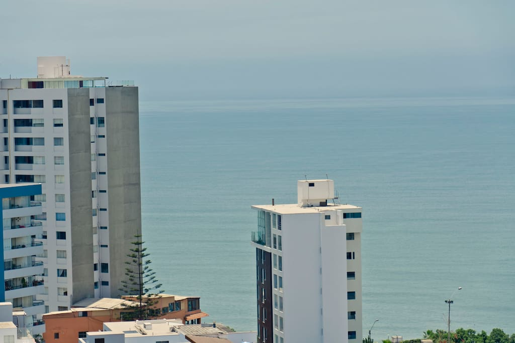 Apartment w/Panoramic Ocean Views
