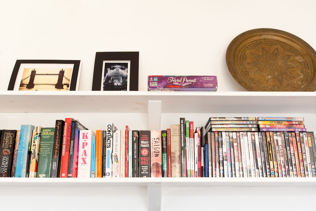 Relax with a book or DVD after a day of sightseeing.