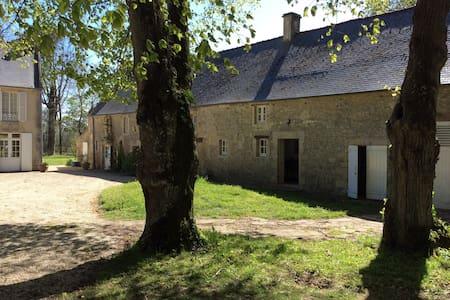 Arromanches, maison charme 4-5 pers - Casa