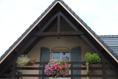 Chambre privative dans maison à la campagne - Dom