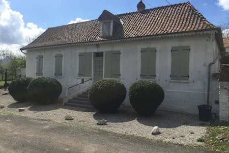 Le Café du Chemin De Fer - Dompierre-Sur-Authie - House