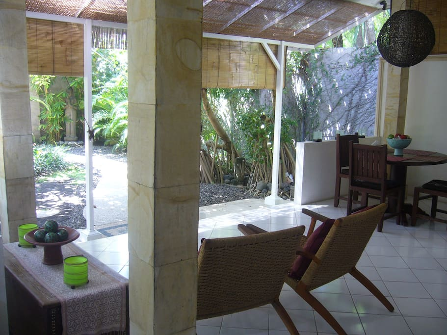 Enjoy the open living that the villa offers