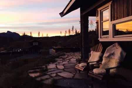 Flott hytte på Golf Alpin, Hemsedal - Cabin