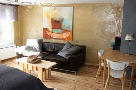 artful studio at the lake Untersee - Appartement