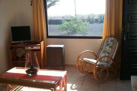 Apartment Orlali in Famara for 2p - Pis