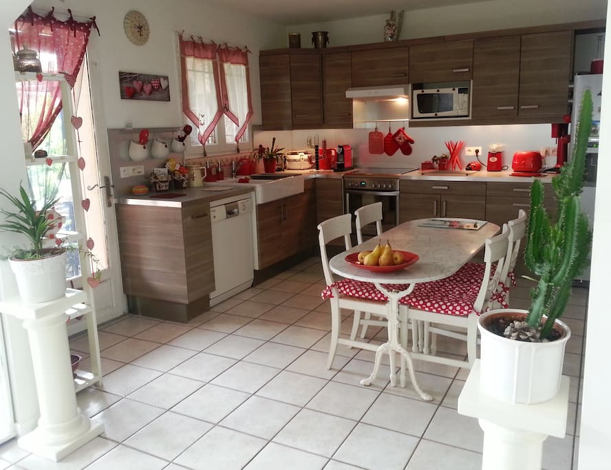 Cuisine conviviale / friendly kitchen