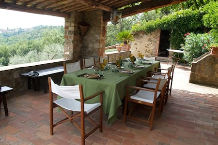 Charming Tuscan Villa, Superb View - Palagio - Villa