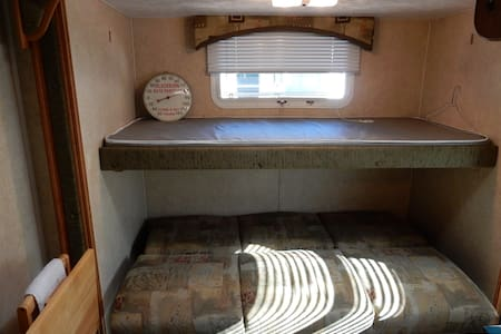 Nice Bunk House in Travel Trailer. - Camper/RV