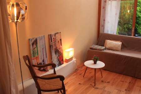 Studio with terrace :) 500 meters from the station - Apartment